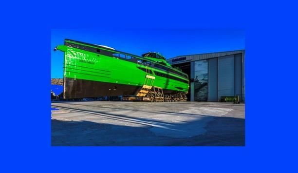 Danfoss Editron chosen by Damen Shipyards to power their first Fast Crew Supply vessel, FCS 7011