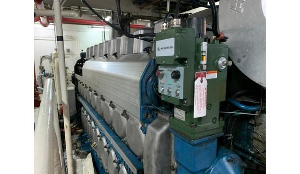 Goltens completes installation of Woodward UG25+ P3 Governor on two Wärtsilä 9L20 engines