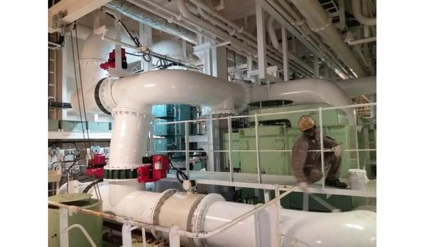 Goltens Singapore performs 3D laser scanning on one of their vessels of a well-known LNG carrier
