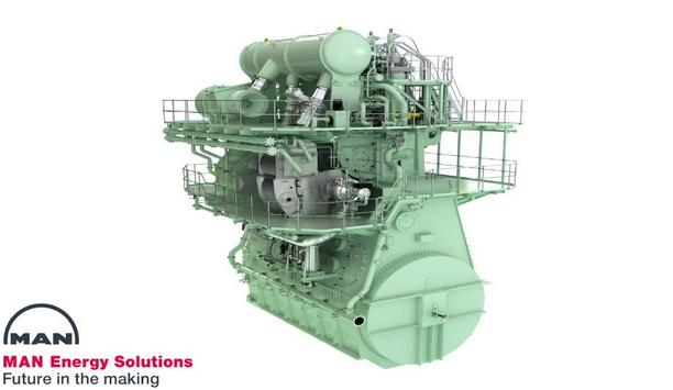 MAN Energy Solutions has surge of orders for ME-GA engine