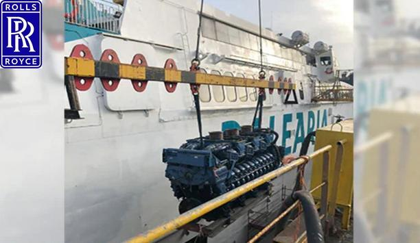 Rolls-Royce supplies mtu solutions for propulsion, automation and digital service on the Avemar Dos ferry