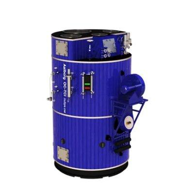 Alfa Laval Aalborg OC-TCI space saving combination boiler fired with both oil and exhaust gas
