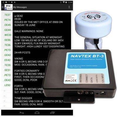 NASA Marine Instruments BT-3 Bluetooth Navtex receiver