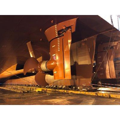 LOEWE MARINE Flap rudder with FCR technology