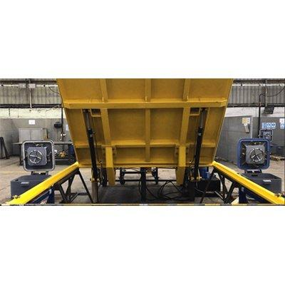 MML Marine Hydraulic Deck Hatch