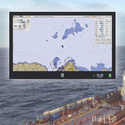 Kongsberg K-Nav ECDIS - standalone navigation information system