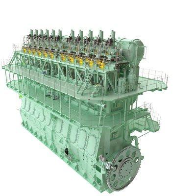 MAN Energy Solutions MAN B&W ME-GI Two-stroke Propulsion Engine