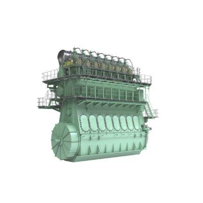MAN Energy Solutions MAN B&W ME-GIE Two-stroke Propulsion Engine