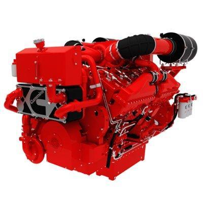 Cummins QSK38-DM1 Marine Auxiliary Engine (Fixed Speed Ratings)