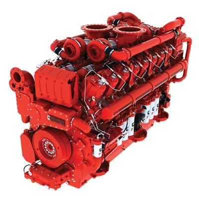 Cummins QSK95-M Commercial and Recreational Marine Propulsion Engine (Variable Speed Ratings)