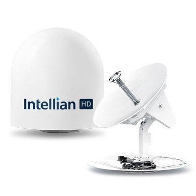 Intellian s100HD 1m Maritime Antenna for HD DIRECTV and Global TV Reception