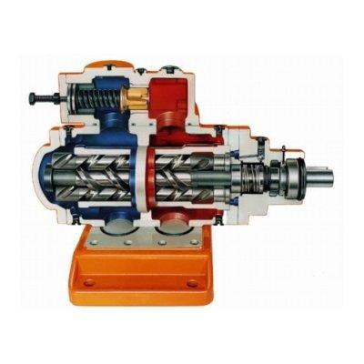 Allweiler Series SN Three-Screw pump for general applications up to 100 bar