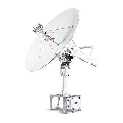 Intellian t240CK 2.4m C-band and Ku-band Marine Satellite TV Antenna System