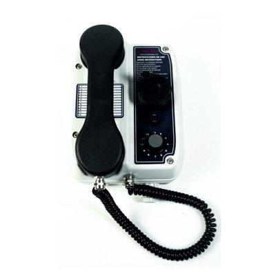 SCM Sistemas TA-MG-3-AU 12/24 way sound powered telephone with headset connection