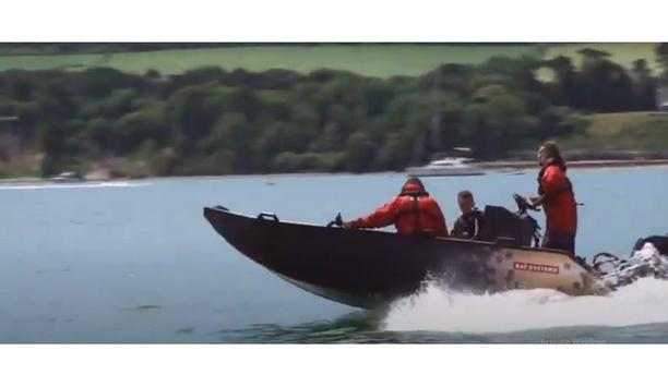 BAE Systems' Tactical Riverine Craft in action